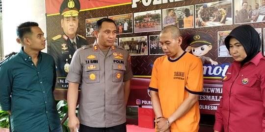 Guru SMP di Malang pelaku pelecehan seksual. ©2019 Merdeka.com