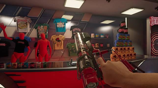 พบกับเกม Devolverland Expo เกมที่เปิดให้ผู้เล่นได้เดินในงานเกมที่ถูกยกเลิกไป
