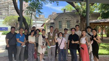 華創協會夏日會員小聚,相約「臺博鐵道部園區」參訪百年建築趣