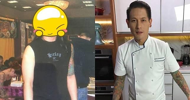 10 Potret lawas Chef Juna Rorimpandey, pernah gondrong