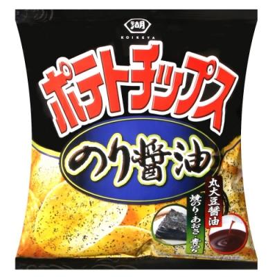 湖池屋 海苔醬油風味薯片(50g)