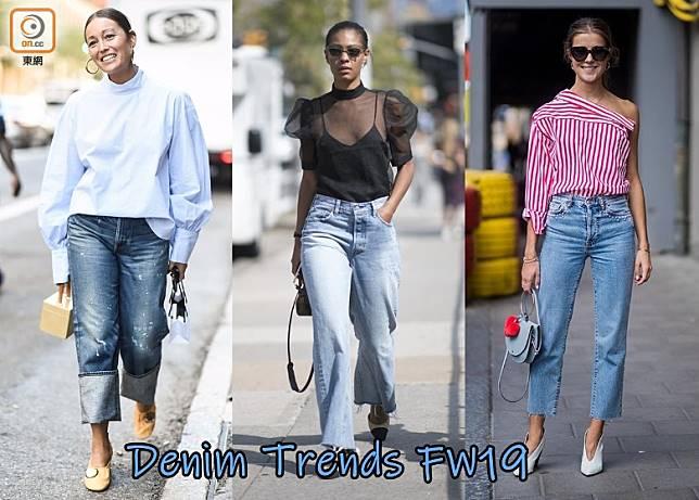 唔好再着已經Out晒嘅Skinny Jeans喇,Straight-leg、Wide-leg和Cuff Jeans才是今季流行的牛仔褲款。(互聯網)