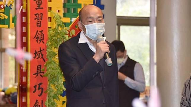 高雄市長韓國瑜。(圖/翻攝自韓國瑜臉書)