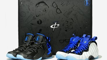 同台獻藝 / Air Foamposite , Lil Penny Posite 'the Shooting Stars' 套裝