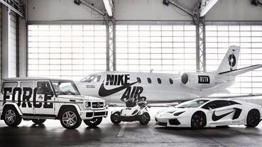 越改越兇!Nike 聯手知名潮店推出「奢華版」AF100 計畫