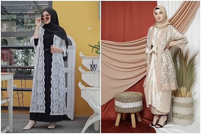 7 Ootd Outer Brokat Untuk Hijaber Tampil Elegan Di Hari Lebaran Womantalk Com Line Today