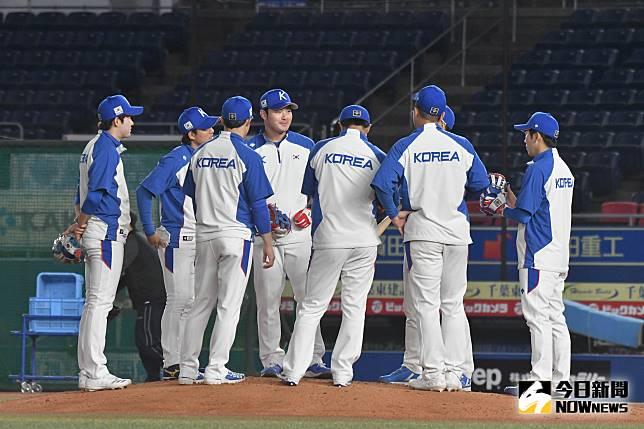 ▲世界棒球12強,韓國隊。(圖/記者葉政勳攝 , 2019.11
