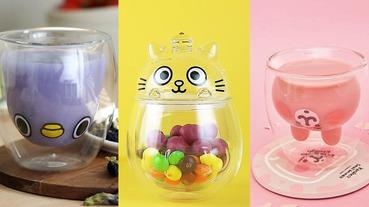 雙層玻璃杯推薦這 8 款可愛又療癒!動物造型、人氣角色通通有