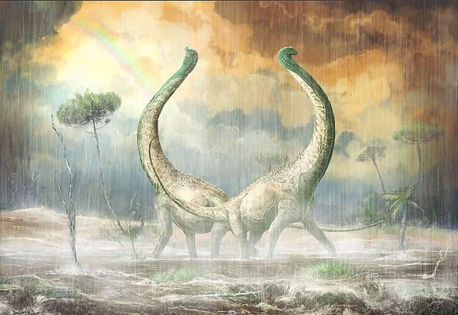 Ditemukan Dinosaurus Sebesar Bus dengan Tulang Ekor Berbentuk Hati