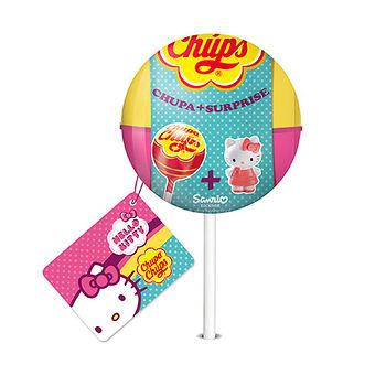 加倍佳草莓棒棒糖Kitty驚喜蛋192g