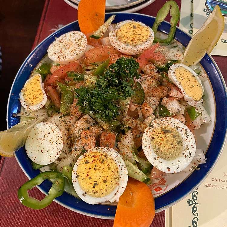 ユーザーが投稿したPIYAZの写真 - 実際訪問したユーザーが直接撮影して投稿した新宿トルコ料理ボスボラス・ハサン 新宿二丁目店の写真