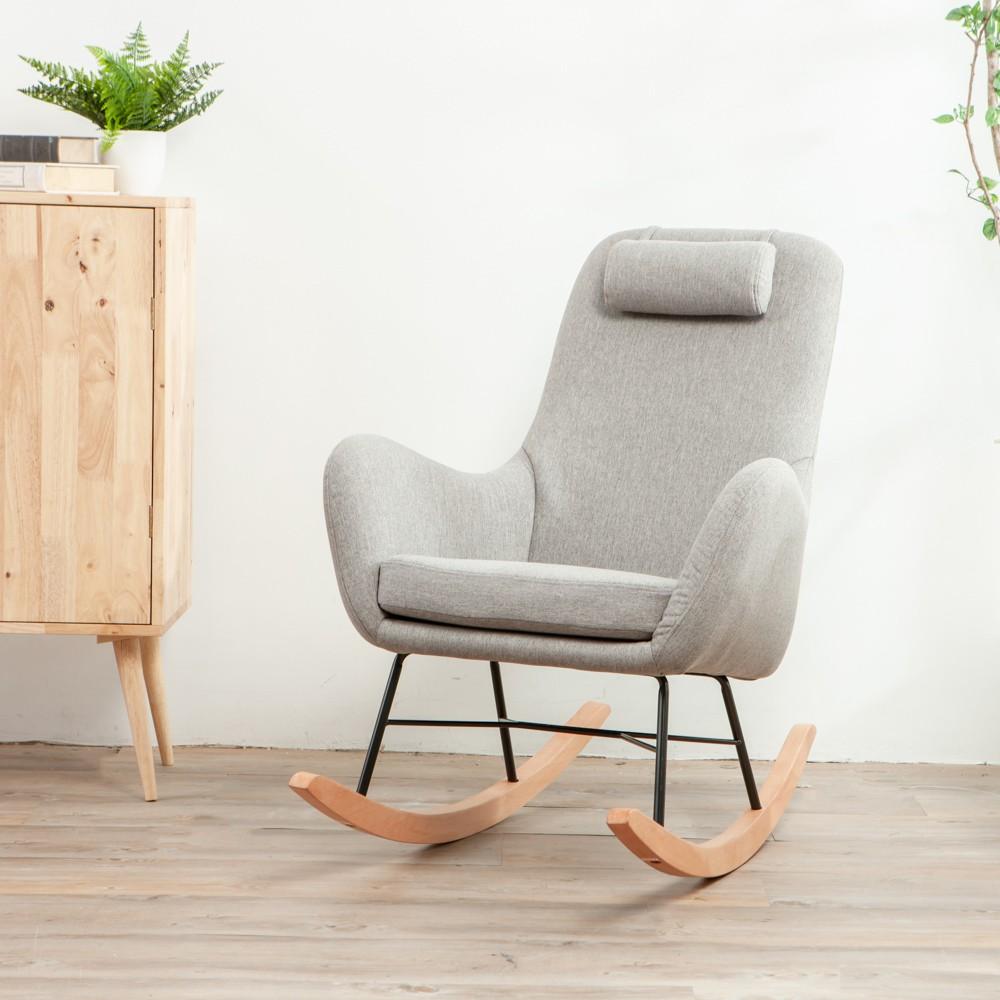 #生活工場 #WORKINGHOUSE #家具 #椅子 #椅 #舒適 #搖椅 #坐姿【產品特色】·坐感柔軟Q彈舒適,外觀簡約有型·耐用的骨架與實木腳架·可當作單椅或搖椅使用【商品規格】 內容物:搖椅*