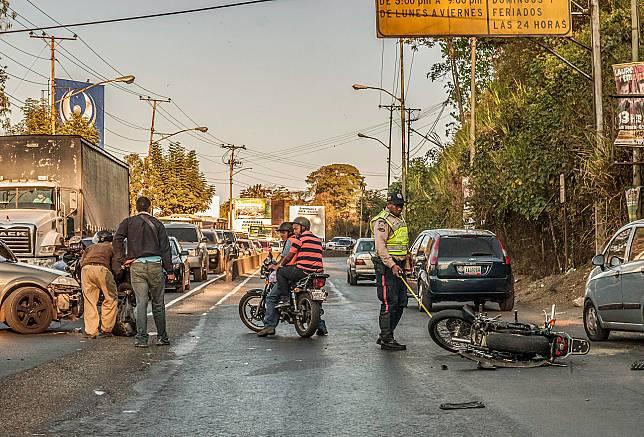 Ilustrasi Kecelakaan Motor/Wikipedia