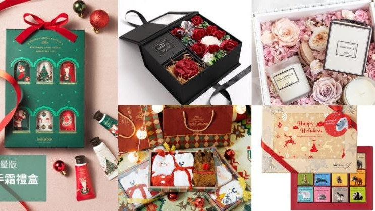 零失誤!5 款正中女孩歡心的聖誕禮盒組
