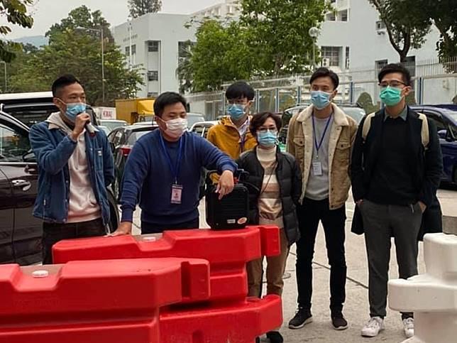 北區區議員陳梓峯FB圖片。