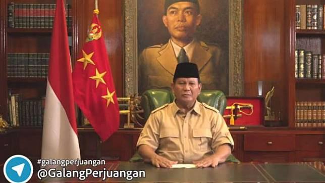 KPU Minta Prabowo Laporkan Hasil Galang Dana Politik