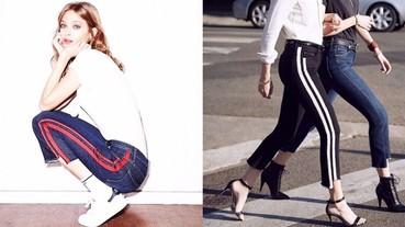 運動褲與牛仔褲的合體版!Gigi Hadid 又要帶起另一股牛仔褲潮流了嗎?