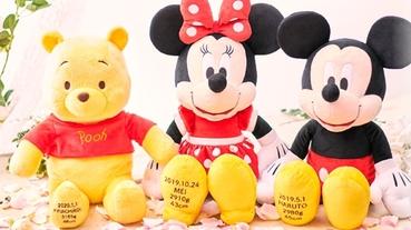 迪士尼訂製生日娃娃~~名字、體重、生日都能客製化