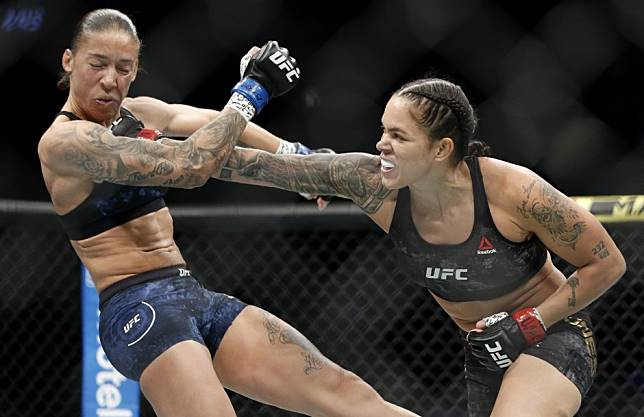 UFC 245: Amanda Nunes dominates a game Germaine de Randamie to retain bantamweight title