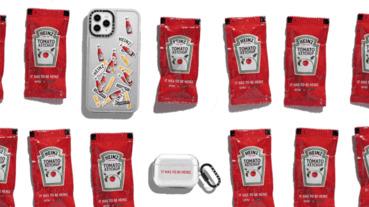番茄醬迷看過來!HEINZ番茄醬和CASETiFY手機殼首度聯名,推出多款超Q手機周邊配件太欠買