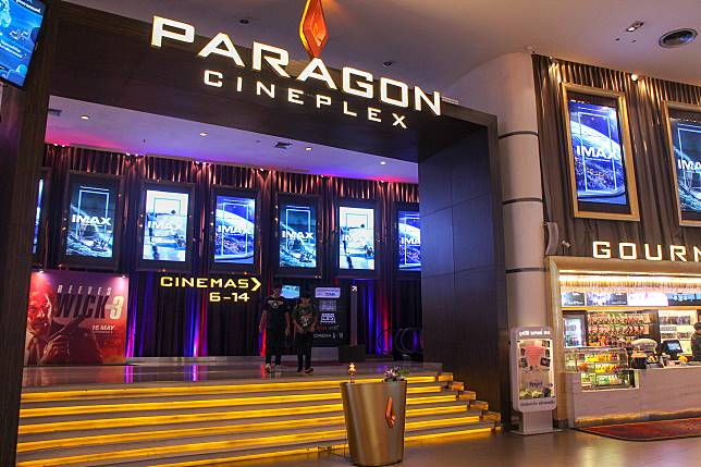 Paragon Cineplex戲院位於曼谷Siam,交通非常方便。