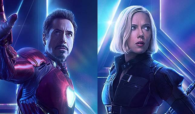 Tony Stark/Iron-Man Hadir di Film Black Widow