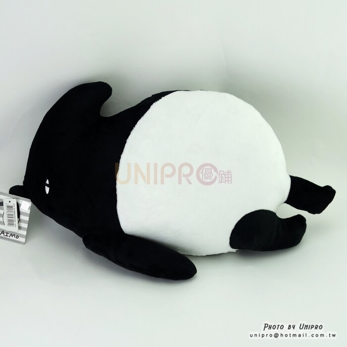 【UNIPRO】馬來貘 LAIMO 躺姿 絨毛玩偶 娃娃 抱枕 靠枕 扁枕 午安枕 Cherng