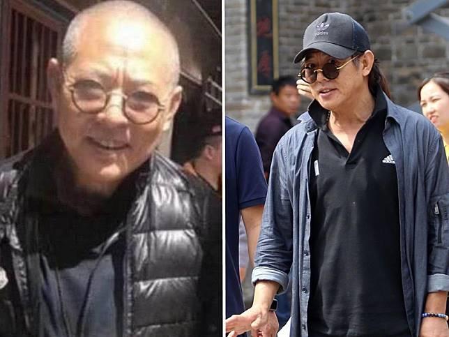 56歲的李連杰之前傳聞患病,網上流出他剃了一頭短髮,髮根斑白的照片。