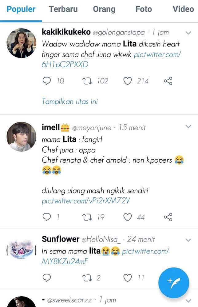 Cuitan netizen di media sosial Twitter