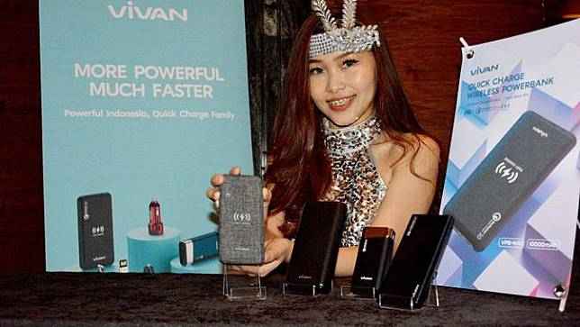 Powerbank Vivan