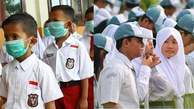 2 Siswa Saudara Kandung Kena Corona di Hari Pertama Masuk Sekolah ...