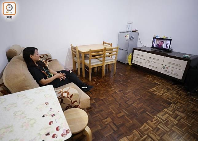 華富閣有16個單位為低收入家庭提供過渡性房屋。(羅錦鴻攝)