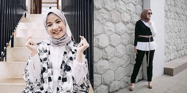 5 Cara Padu Padan Fashion Hijab Dengan Atasan Putih