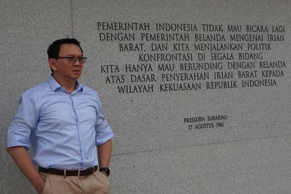 Mantan Gubernur DKI Jakarta Basuki Tjahaja Purnama (Ahok)