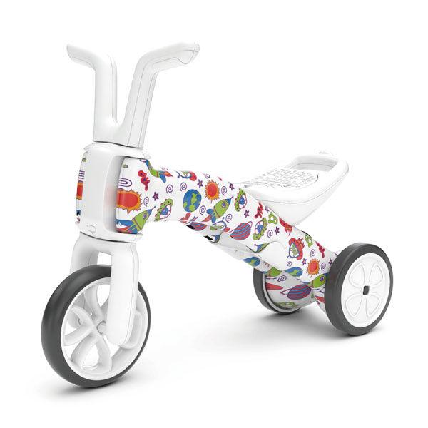 比利時 Chillafish 二合一漸進式玩具Bunzi寶寶平衡車/滑步車-太空火箭