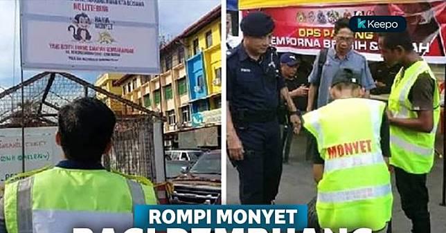 Mau Buang Sampah Sembarangan di Malaysia? Hati-Hati Nanti Dihukum Pakai Rompi