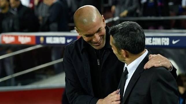 Ernesto Valverde dipecat Barcelona Zidane Bersedih