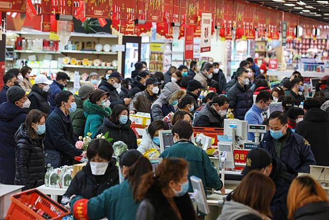 China's consumer inflation at eight-year high, but factory gate prices stay subdued
