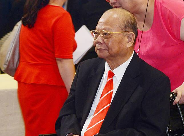 曾憲梓下午在廣東梅州病逝,享年85歲。 資料圖片