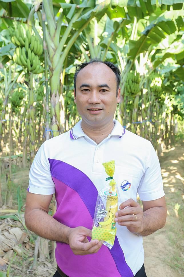 เกษตรกรปลูก 'กล้วยหอมทอง' ส่งขายเซเว่นฯ รุ่ง เส้นทางสู่รายได้