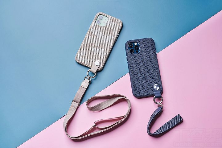 可依需求搭配腕帶、可調式掛繩或自有掛繩,打造出專屬的攜帶風格。