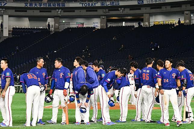 ▲世界棒球12強,中華隊vs.美國隊。中華隊1分惜敗美國
