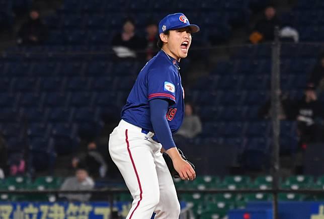 ▲世界棒球12強中華隊先發投手張奕。(圖/記者葉政勳攝 )