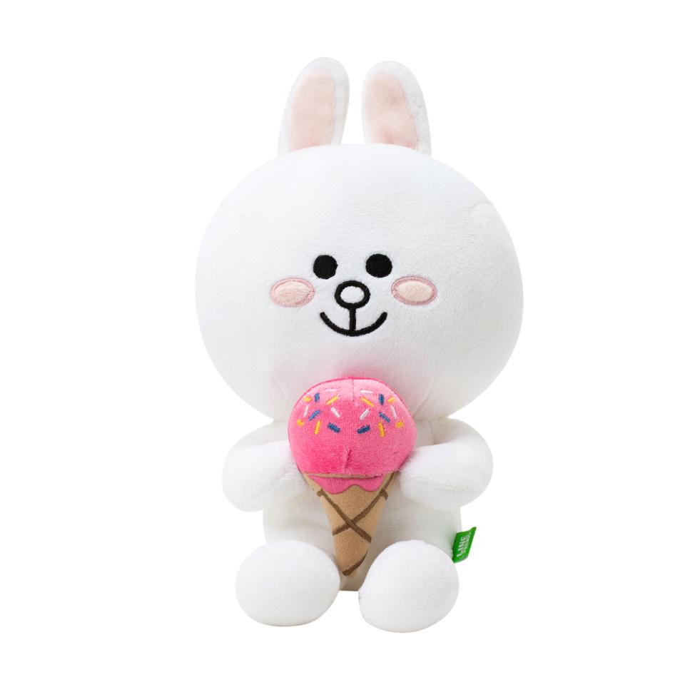 冰淇淋兔兔 25cm坐姿玩偶