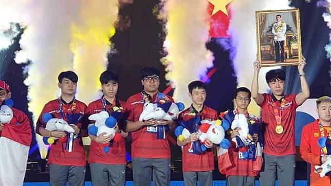 ทีมชาติไทยคว้าเหรียญทองกีฬาอีสปอร์ต ซีเกมส์ 2019 จากเกม  Arena of Valor