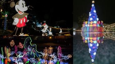 「2019臺中耶誕夢想世界」打造迪士尼國度!柳川、綠川必拍,14米高TSUM TSUM聖誕樹