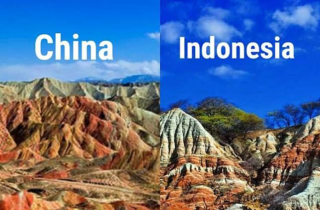 Tak Perlu Jauh-jauh ke China, NTT juga Punya Gunung Pelangi yang Tersembunyi. Keindahannya Menakjubkan!