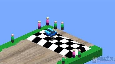 麥塊風滿滿的賽車遊戲 Cubed Rally Racer 遊戲體驗(限免中)
