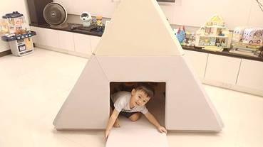 【兒童地墊開箱】小鹿蔓蔓魔法變形遊戲地墊