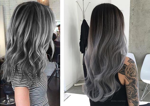 髮色 鐵灰色